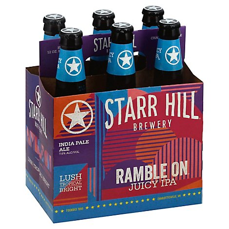 Star Hill Ramble On 4/6 Lnnr In Bottles - 6-12 Fl. Oz.