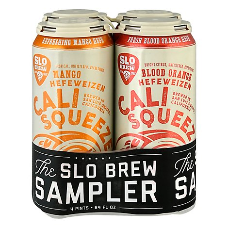 Slo Brew Sampler In Cans - 4-16 Fl. Oz.