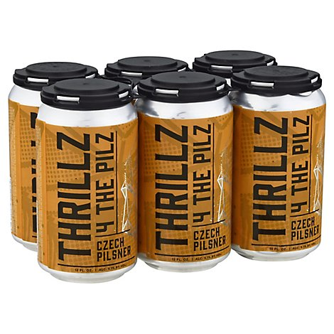 Edge Thrillz 4 The Pilz In Cans - 6-12 Fl. Oz.