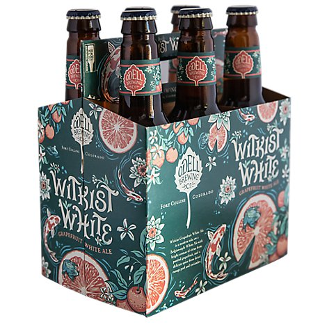 Odell Brewing Whitkist White Ale In Cans - 6-12 Fl. Oz.