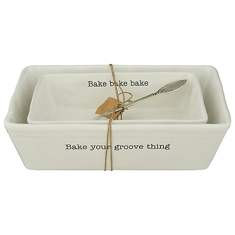 Mud Pie Nested Baking Dish Set - Each
