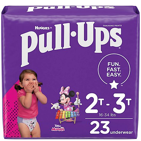 Pull-Ups Learning Designs Training Pants 2t-3t Girl Jumbo Pack 23 - 23 Count