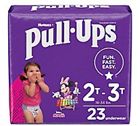Pull-Ups Potty Training Pants For Girls Size 4 2T To 3T - 23 Count
