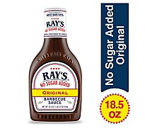 Sweet Baby Rays No Sugar Original Bbq - 18.5 Oz