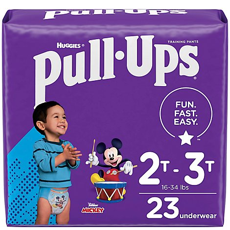 Pull-Ups Learning Design Training Pants 2t-3t Boy Jumbo Pack - 23 Count