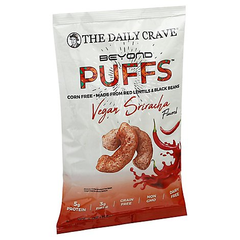 The Daily Crave Puff Spicy Sriracha - 4 Oz