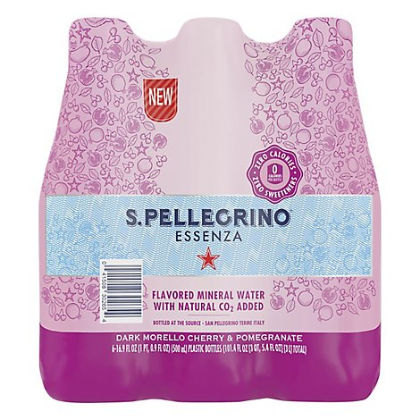 San Pellegrino Cherry And Pomegranate - 6-16.9 Fl. Oz.