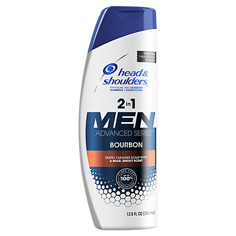 Head & Shoulders Advanced Series Men 2n1 Bourbon - 12.8 Fl. Oz.