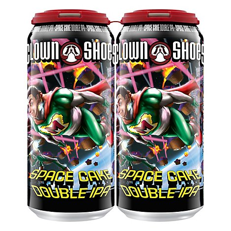 Clown Shoes Space Cake In Cans - 4-16 Fl. Oz.