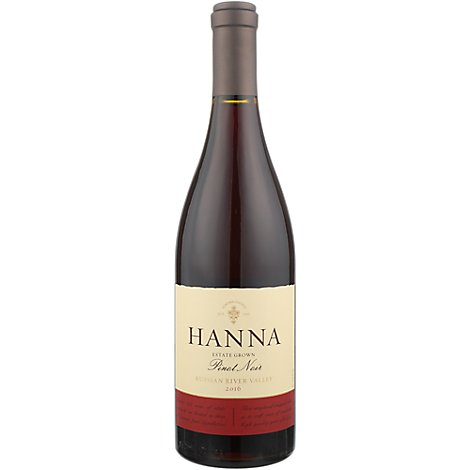Hanna Pinot Noir Russian River Wine - 750 Ml