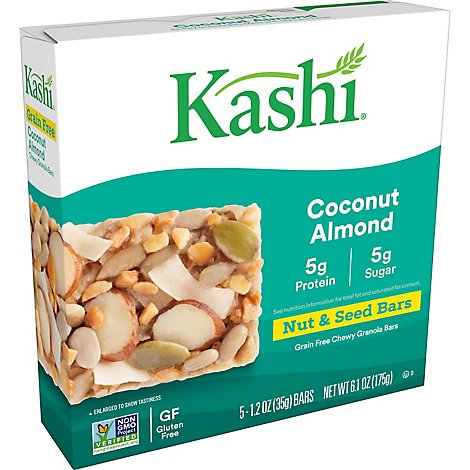 Kashi Coconut Almond Chewy Bars - 6.1 Oz