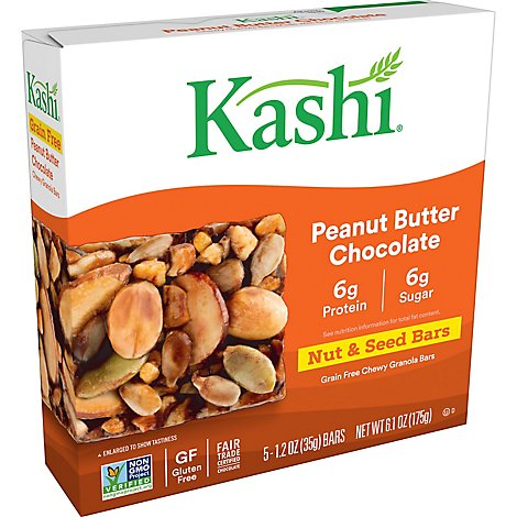 Kashi Granola Bars Chocolate Peanut Butter 5 Count - 6.1 Oz