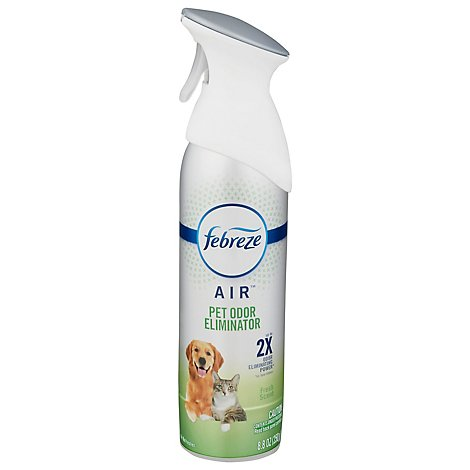 Febreze Odor-Eliminating Pet Odor Defense Air Freshener - 8.8 Oz