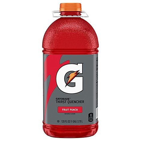 Gatorade Thirst Quencher Fruit Punch - 128 Fl. Oz.