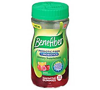 Benefiber Chewables Prebiotic Fiber Supplement Assorted Fruit - 50 Count