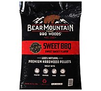 Bear Mountain Craft Blend Sweet Bbq Pellets - 20 Lb