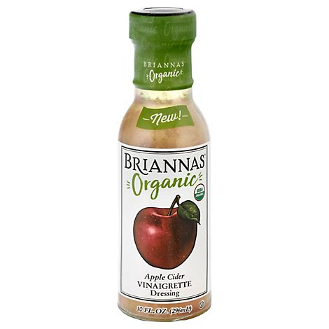 Briannas Dressing Apple Cider Vinegargrt - 10 Oz