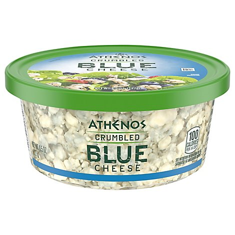Athenos Blue Cheese Crumbles - 4.5 Oz