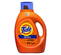 Tide Liquid Detergent HE Original - 92 Fl. Oz.