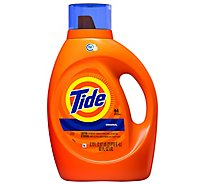 Tide Liquid Laundry Detergent HE Compatible Original 64 Loads - 92 Fl. Oz.