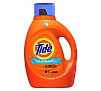 Tide Liquid Detergent HE Clean Breeze - 92 Fl. Oz.