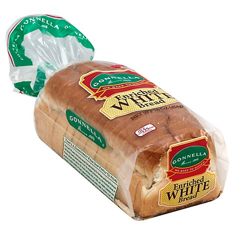 White Bread 5/8in Sl Cpp 16oz - Each