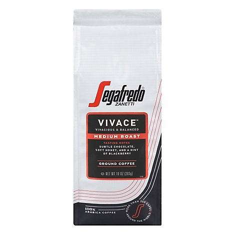 Segafredo Vivace Ground Bag - 10 Oz
