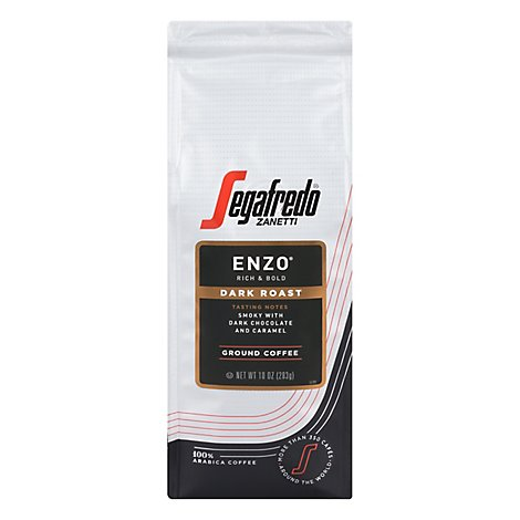Segafredo Enzo Ground Bag - 10 Oz
