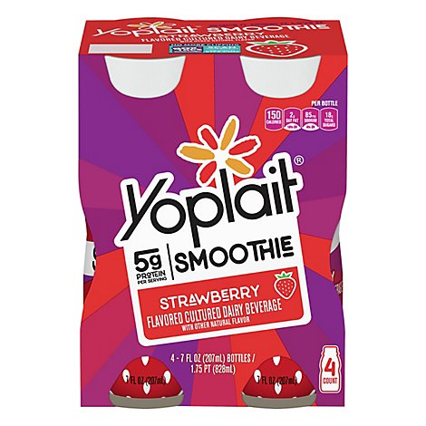 Yoplait Strawberry Smoothie - 28 Fl. Oz.