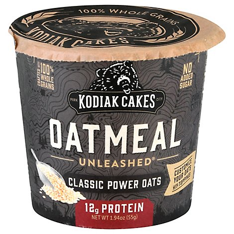 Kodiak Cup Oatmeal Plainal Cup - 2.12 Oz