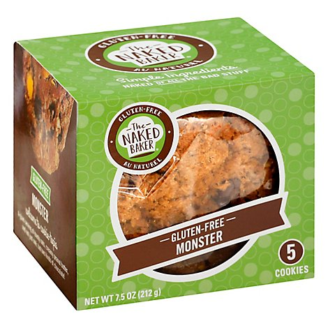 The Naked Baker Gf Monster Cookies - 7.5 Oz