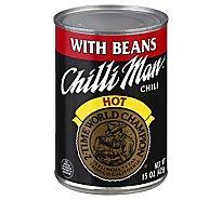Chilli Man Chili With Beans Lean Meat Can - 15 Oz