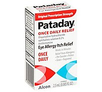 Pataday Once Daily Relief - 2.5 Ml