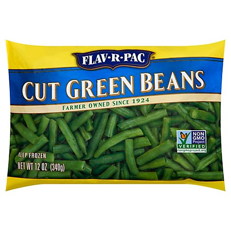 Fav R Pac Cut Green Beans - 12 Oz