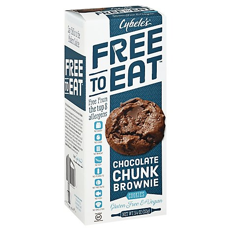 Cybeles Cookie Chc Chnk Brownie - 5.4 Oz