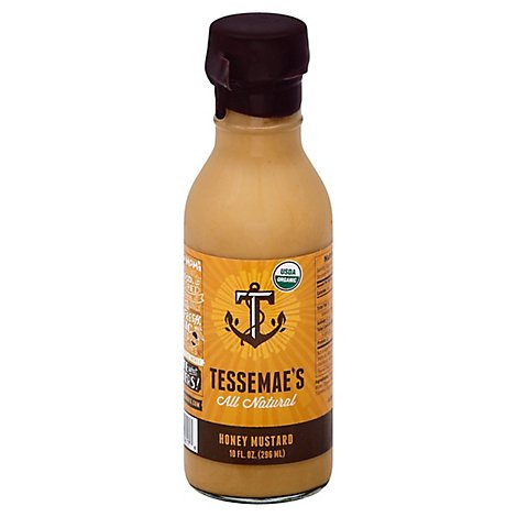 Tessemaes Dressing Honey Mustard USDA - 10 Oz