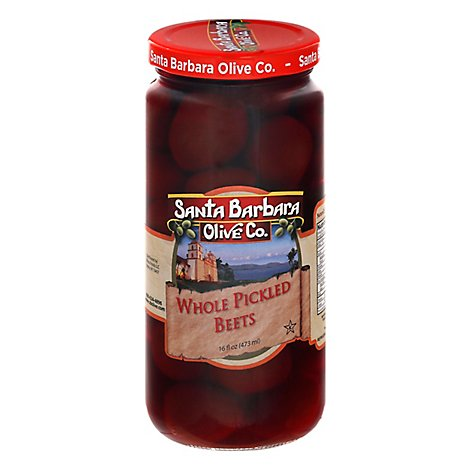 Santa Barbara Beets Baby Pickled - 16 Oz