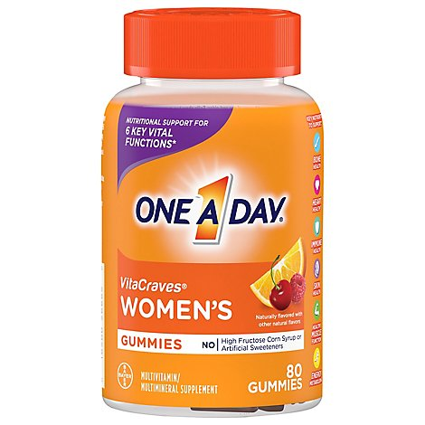 Oad Womens Vitacraves Gummies - 80 Count