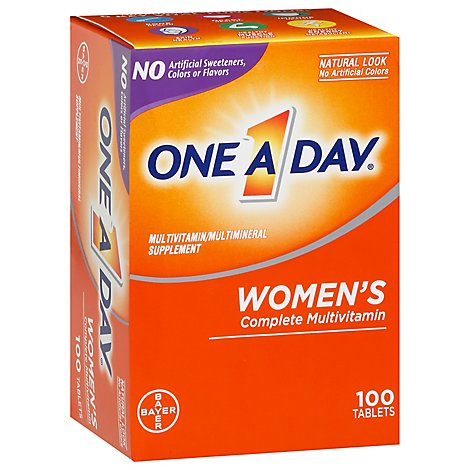 One A Day Multi Vitamin For Women - 100 Count