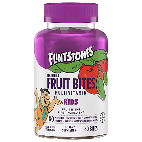 Flintstones Fruit Bites - 60 Count