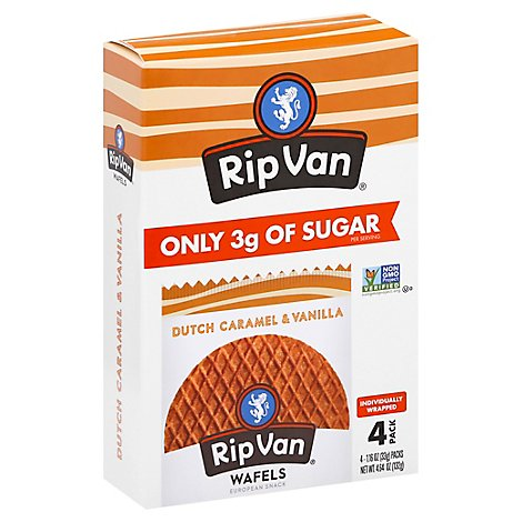Rip Van Wafels Cookie Crml Vnla - 4.64 Oz