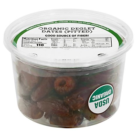 Deglet Dates Organic - 10 Oz