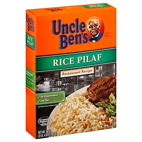 Rice Pilaf Org Flvr - 36 Oz