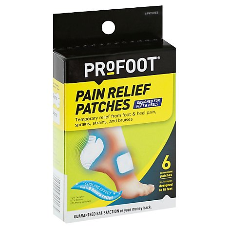 Profoot Pain Relief Patches - Each