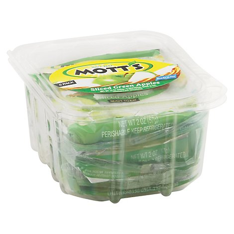 Motts Apples Green Sliced Multi Pack - 6-2 Oz