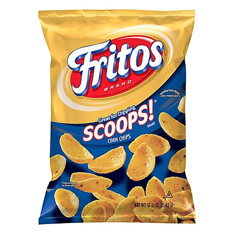Fritos Scoops Corn Chips - 12.5 Oz