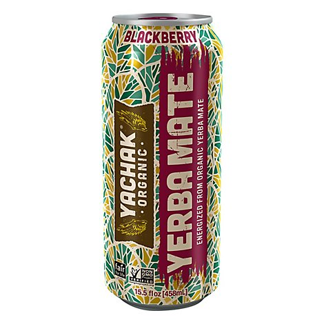 Yachak Energy Drink Blackberry - 15.5 Fl. Oz.