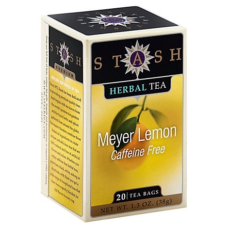 Stash Meyer Lemon Tea - 20 Count
