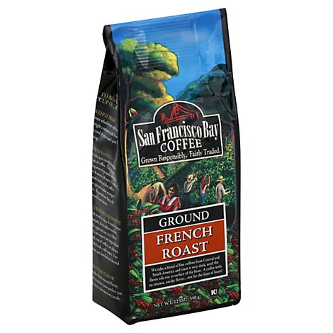 San Francisco Bay French Roast Ground Coffee - 12 Oz