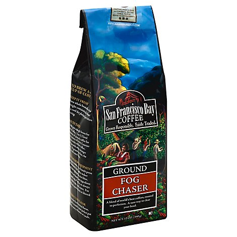 San Francisco Bay Fog Chaser Ground Coffee - 12 Oz